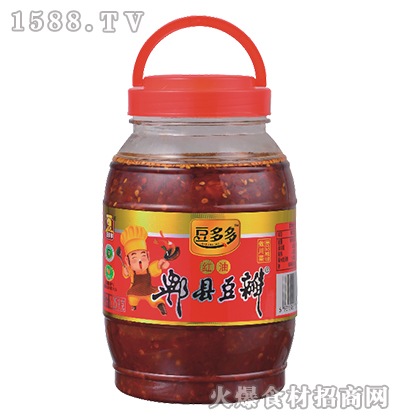 豆多多红油郫县豆瓣1.25千克