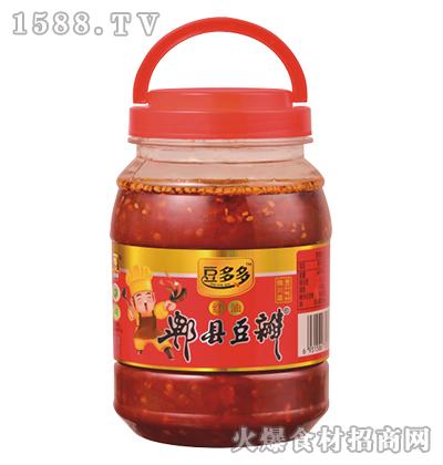 豆多多红油郫县豆瓣700克