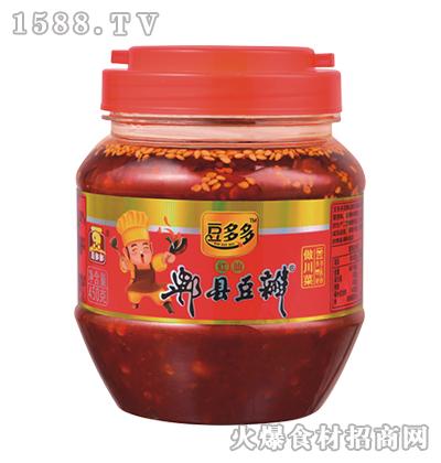 豆多多红油郫县豆瓣450克