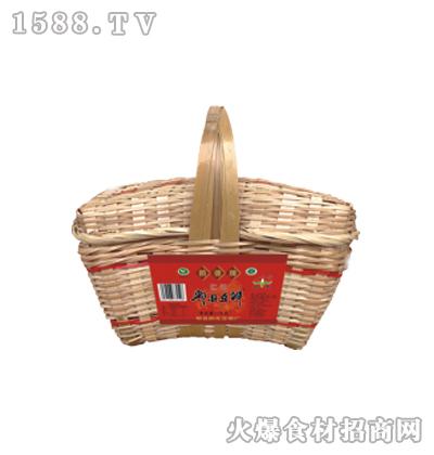 鹃德红油郫县豆瓣-1千克竹编礼盒