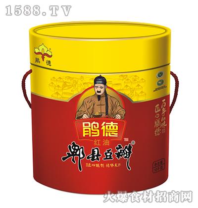 鹃德红油郫县豆瓣10千克
