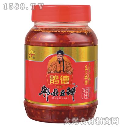 鹃德红油郫县豆瓣-1千克