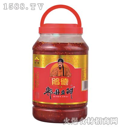 鹃德红油郫县豆瓣3.5千克