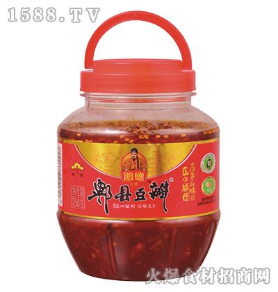 鹃德红油郫县豆瓣750克