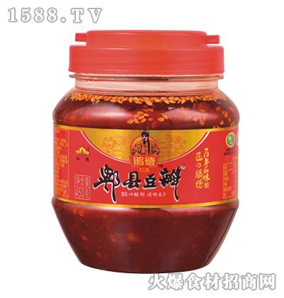 鹃德红油郫县豆瓣450克