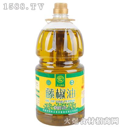 满山黎花藤椒油2.5L