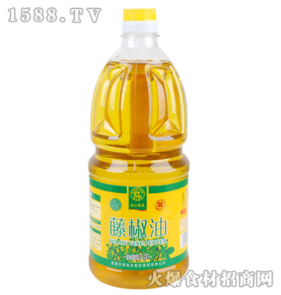 满山黎花藤椒油1.8L