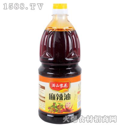 满山黎花麻辣油1.8L