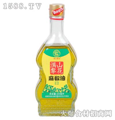 满山黎花麻椒油400毫升