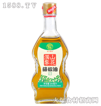 满山黎花藤椒油265毫升