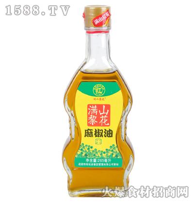 满山黎花麻椒油265毫升