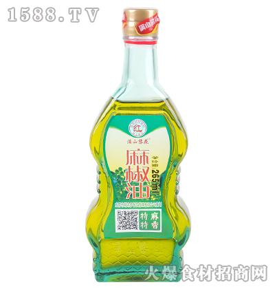 满山黎花麻椒油265ml