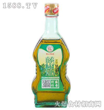 满山黎花藤椒油265ml