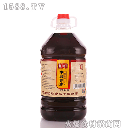 汇晔小磨香油5L