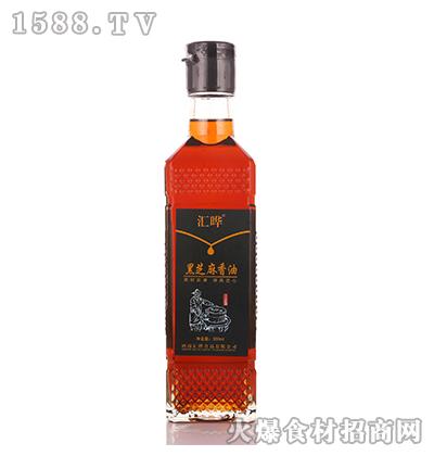 汇晔-黑芝麻香油160ml