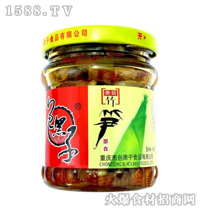 包黑子香菇竹笋158克