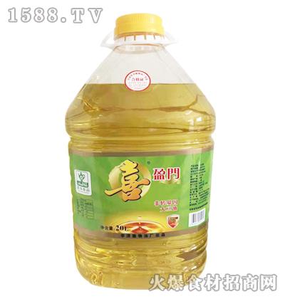 喜盈门非转基因大豆油20L