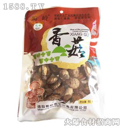 蜀岭香菇80克