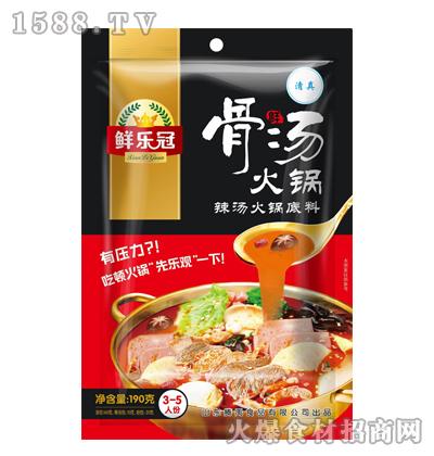 鲜乐冠鲜骨汤火锅底料(辣汤)190克