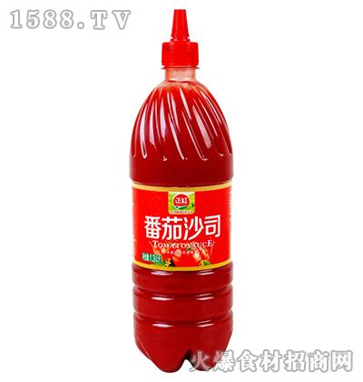 正红番茄沙司1.3kg