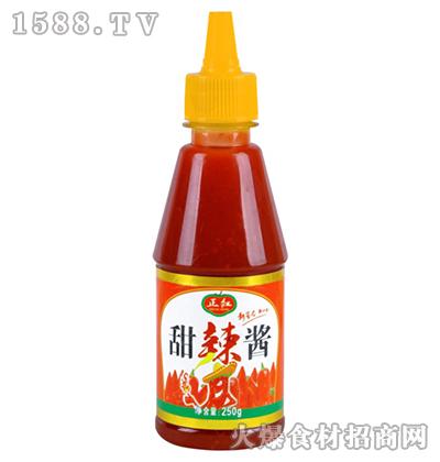 正红甜辣酱250g