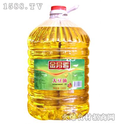 金月香大豆油18升