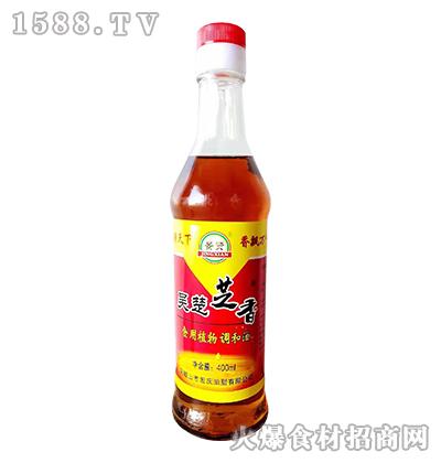 吴楚芝香食用植物调和油400ml