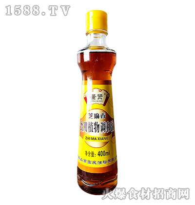 景贤芝麻香食用植物调和油400ml