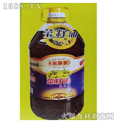 蜀香乐事多纯正菜籽油5L