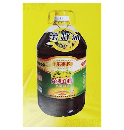 蜀香乐事多纯香菜籽油5L