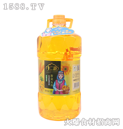 十二喜-黄金五谷食用植物调和油5L