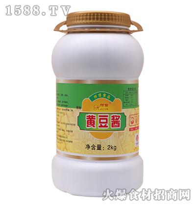 何信黄豆酱2kg
