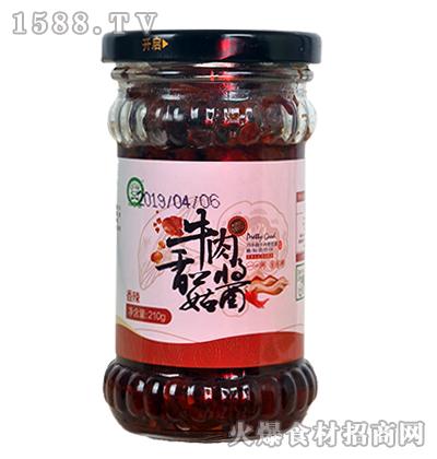 巧手翁香辣牛肉香菇酱210g