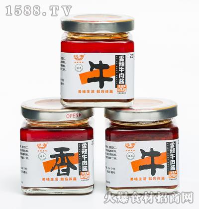 悦客香辣牛肉酱120g