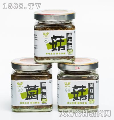 悦客菌菇酱120g