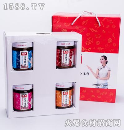 赛鸿鲜辣椒酱礼盒230gx4