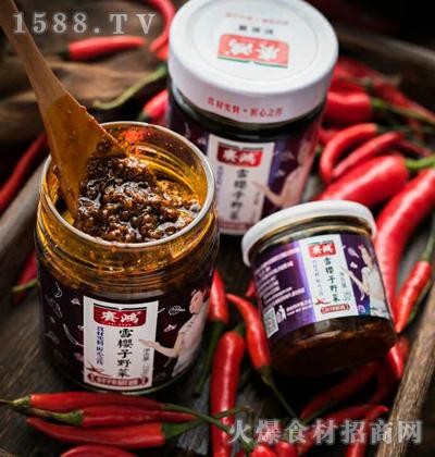 赛鸿雪樱子野菜鲜辣椒酱230g