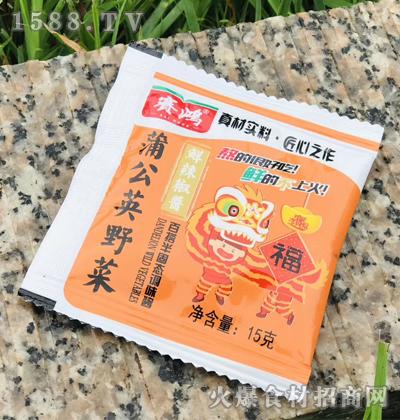 赛鸿蒲公英野菜鲜辣椒酱15克