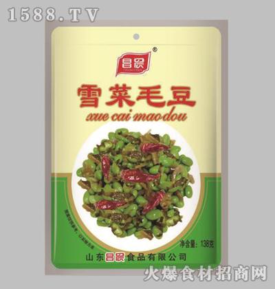 昌晨雪菜毛豆138克