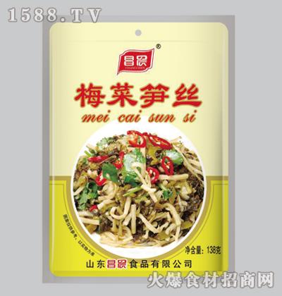 昌晨梅菜笋丝138克