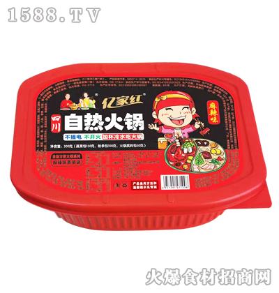 亿家红自热火锅(麻辣味素菜锅)300克