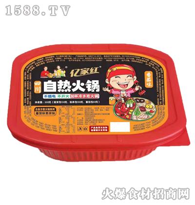 亿家红自热火锅(番茄味素菜锅)300克