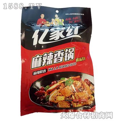 亿家红麻辣香锅调味料180克
