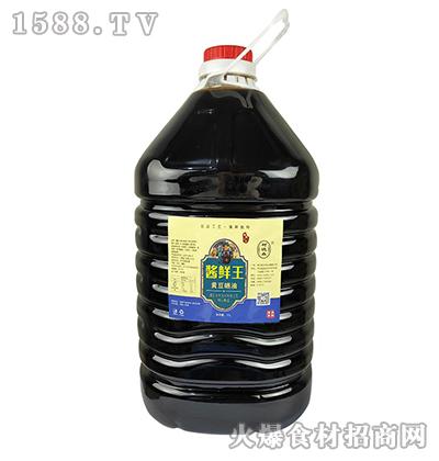 树德森酱鲜王黄豆晒油11L