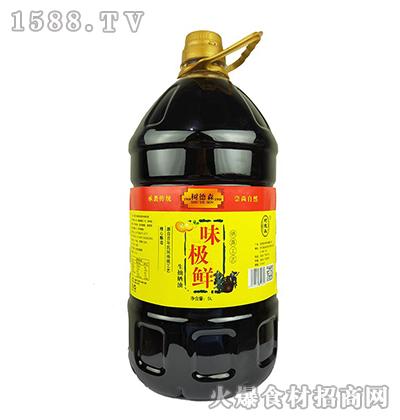树德森味极鲜生抽晒油5L