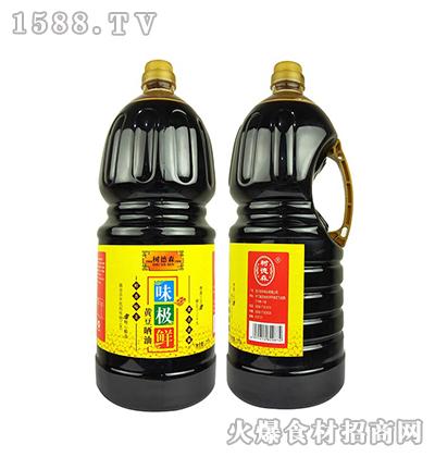 树德森味极鲜黄豆晒油2.5L