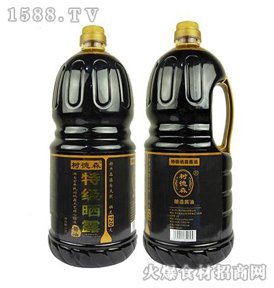 树德森特级晒露酱油1.8L