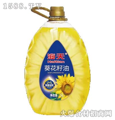 海天葵花籽油【5L】