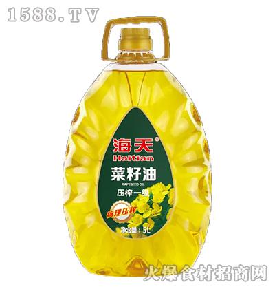 海天压榨一级菜籽油【5L】
