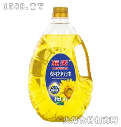 海天葵花籽油【4L】